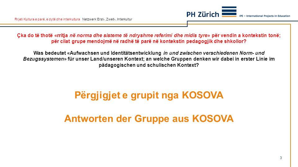 Rrjeti Kultura e parë, e dytë dhe interkultura Netzwerk Erst-, Zweit-, Interkultur 1.