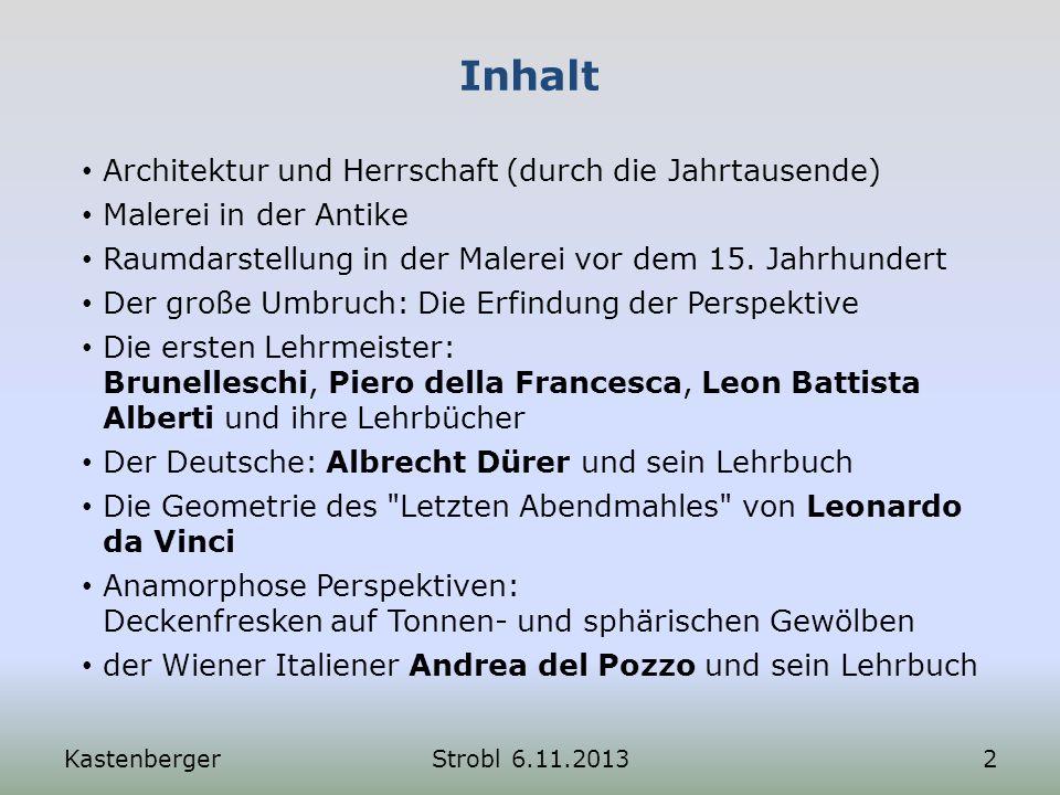 Tiefenteilung: Alberti 1.