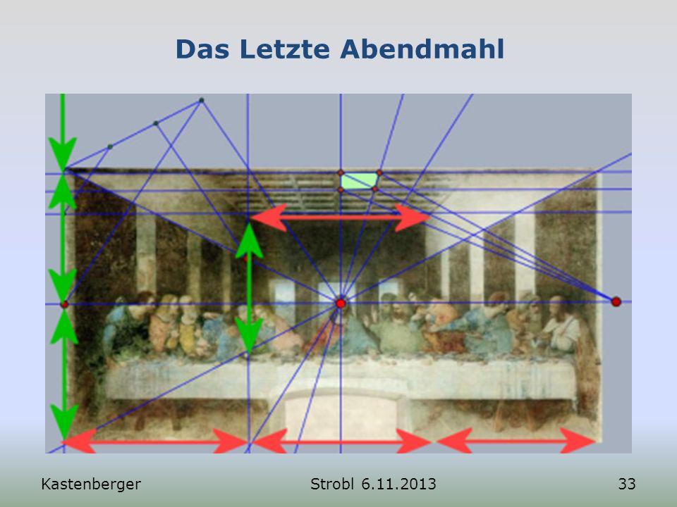 Das Letzte Abendmahl KastenbergerStrobl 6.11.201333