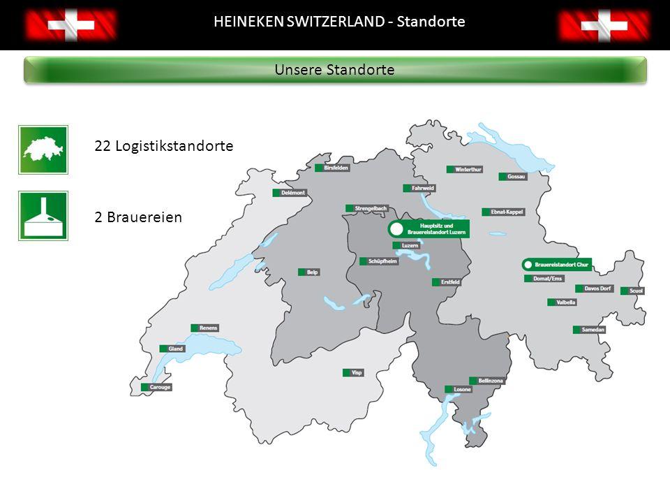 82 Prozent unserer Warenbezüge und Ausgaben sind von Schweizer Lieferanten (2010) Für lange Strecken verwenden wir die Bahn Abwärmenutzung in der Brauerei Chur Zusammenarbeit mit sozialen Institutionen verwantwortungsvoller Genuss Nachhaltigkeit einige unsere Initiativen Nachhaltigkeit