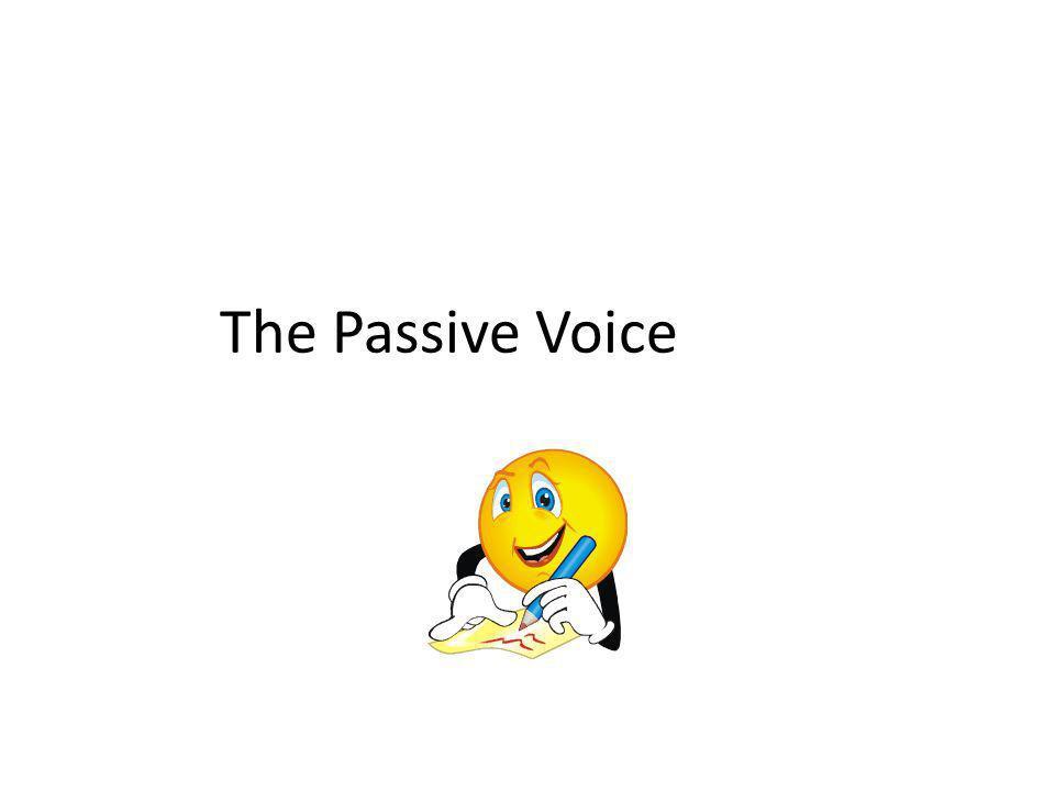 Active vs.Passive Future Sie wird den Jungen loben.