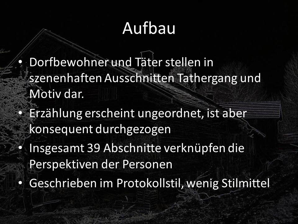 Inhalt Mitte der Fünfzigerjahre wundern sich die Leute in der zur bayrischen Gemeinde Einhausen gehörenden Einöde Tannöd, dass man von den Danners seit nichts hört oder sieht.