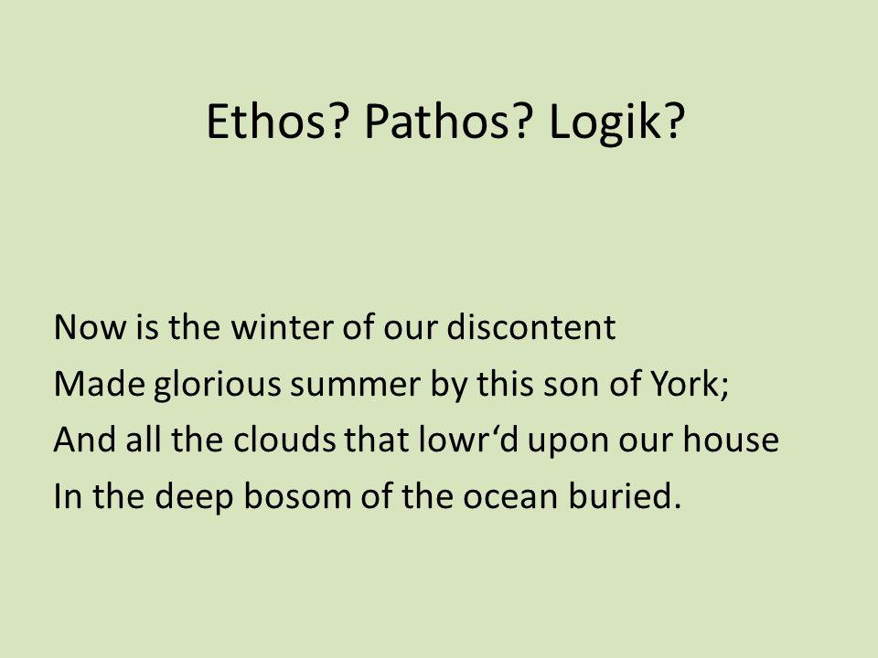 Ethos.Pathos. Logik.