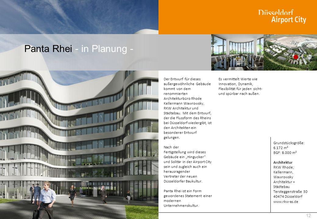 Panta Rhei - in Planung - 12 Der Entwurf für dieses außergewöhnliche Gebäude kommt von dem renommierten Architekturbüro Rhode Kellermann Wawrowsky, RK