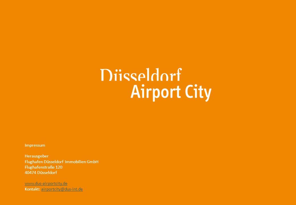 15 Impressum Herausgeber Flughafen Düsseldorf Immobilien GmbH Flughafenstraße 120 40474 Düsseldorf www.dus-airportcity.de Kontakt: airportcity@dus-int