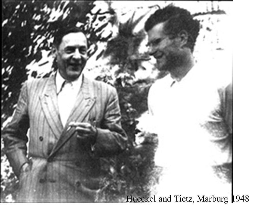 Hueckel and Tietz, Marburg 1948