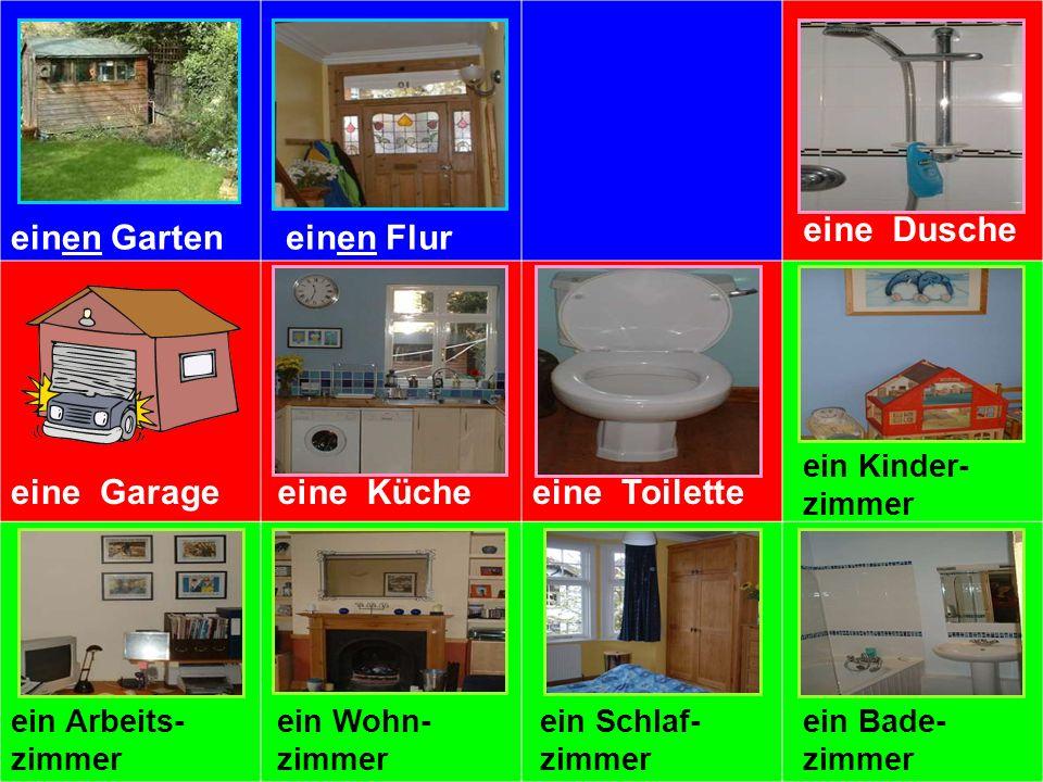 In meinem Haus haben wir keine Toilette