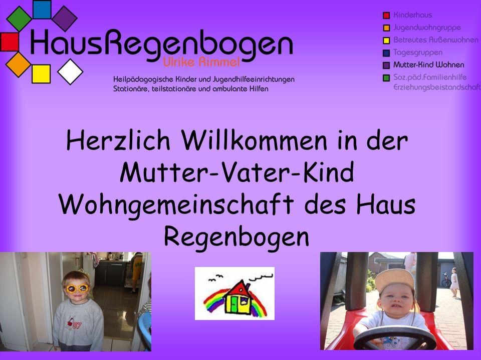 Herzlich Willkommen in der Mutter-Vater-Kind Wohngemeinschaft des Haus Regenbogen