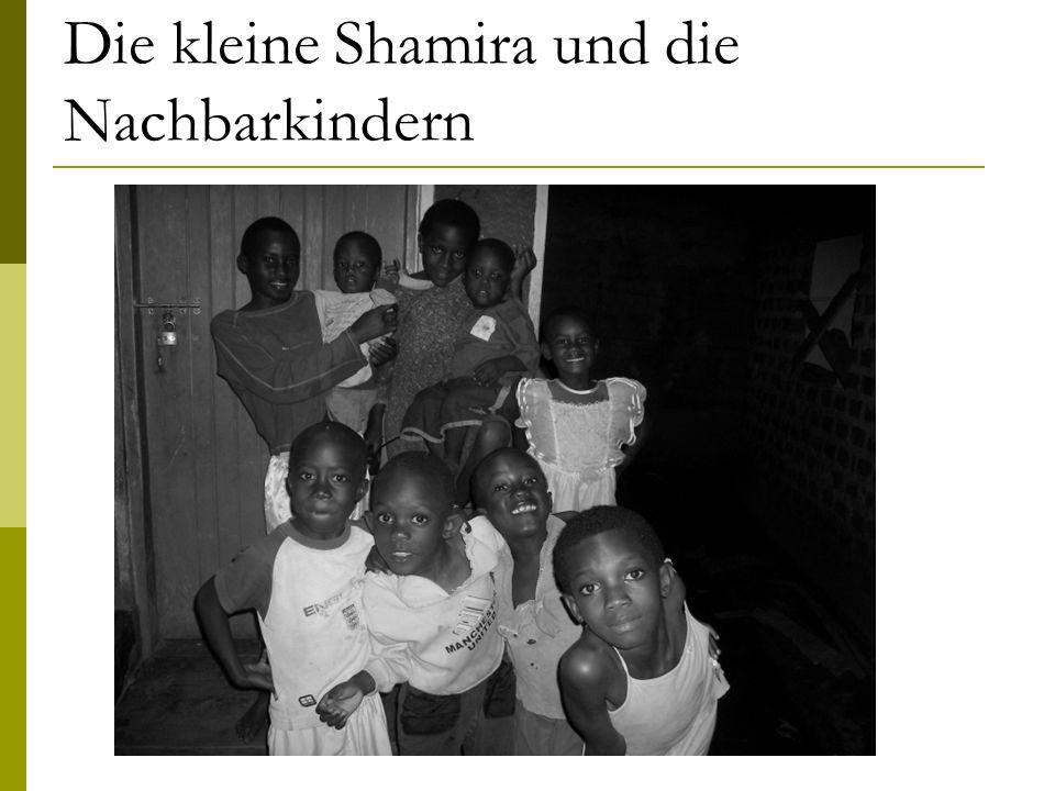 Die kleine Shamira und die Nachbarkindern