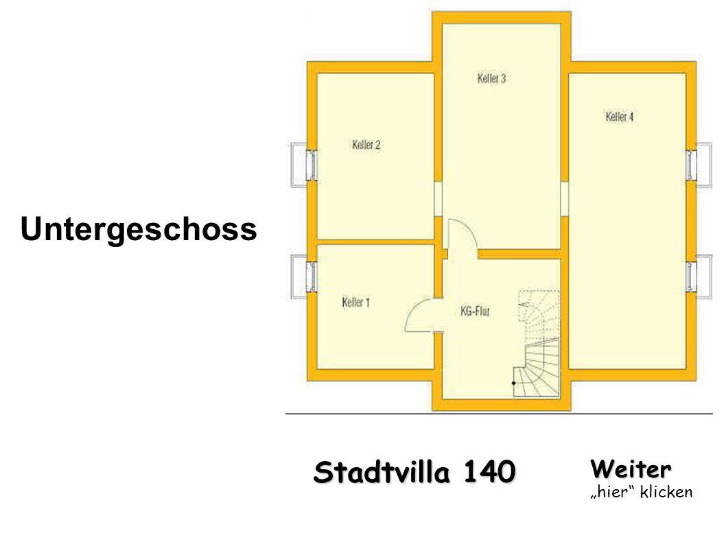 Stadtvilla 140 Untergeschoss Weiter hier klicken
