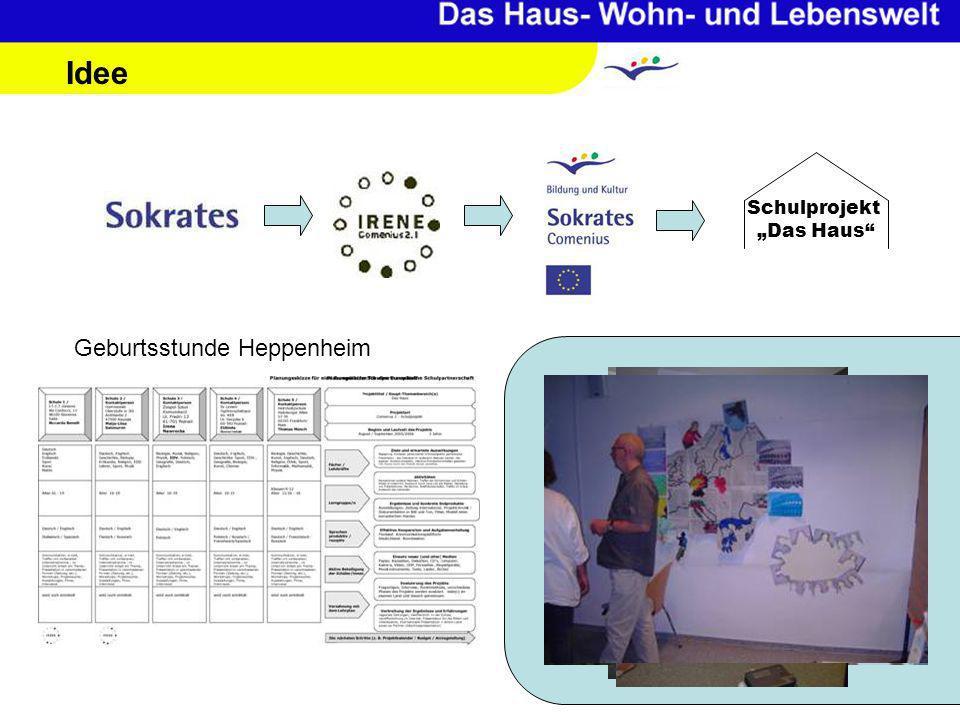 Idee Geburtsstunde Heppenheim Schulprojekt Das Haus