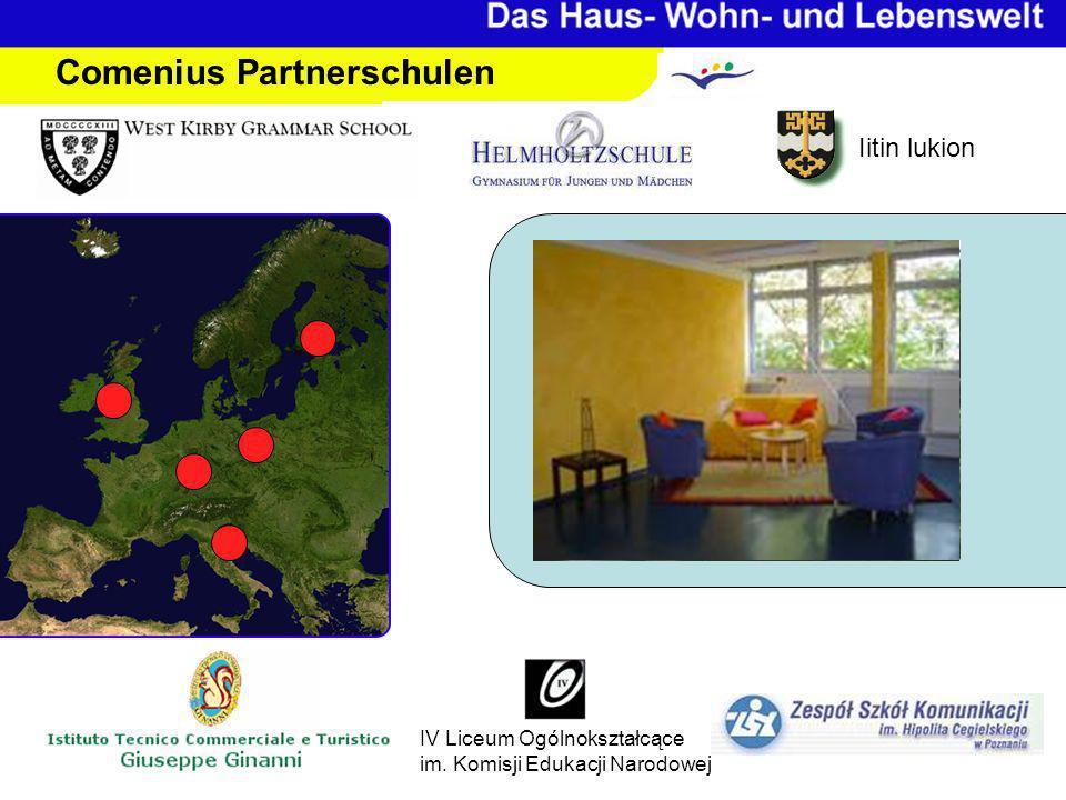 Iitin lukion IV Liceum Ogólnokształcące im. Komisji Edukacji Narodowej Comenius Partnerschulen