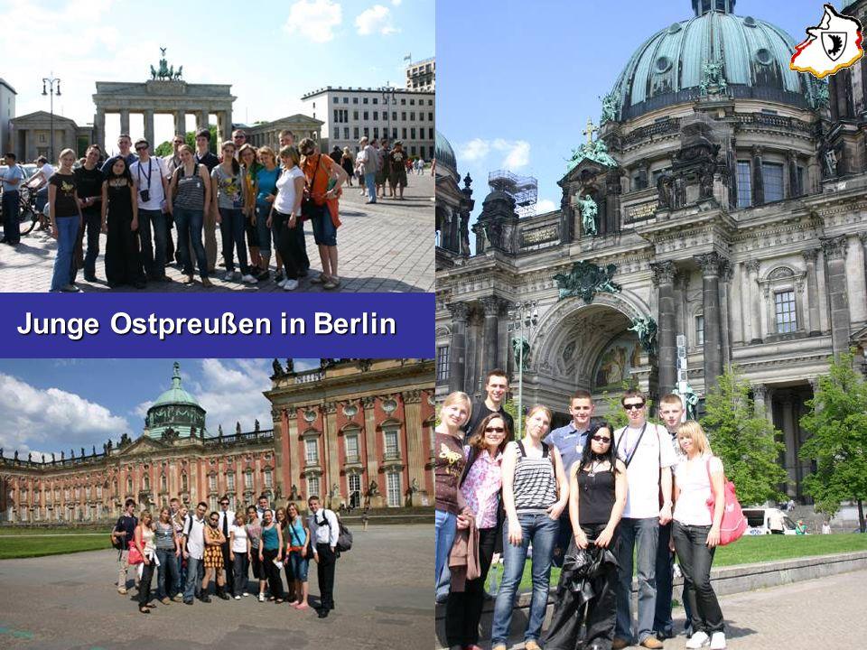 Junge Ostpreußen in Berlin Junge Ostpreußen in Berlin