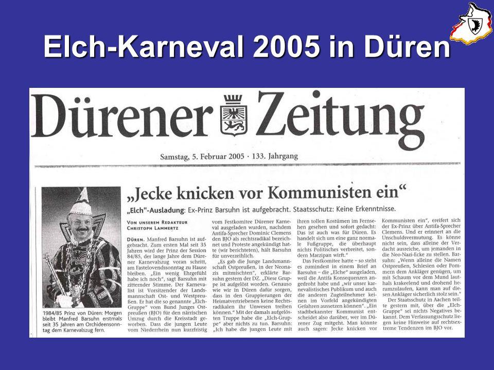 Elch-Karneval 2005 in Düren