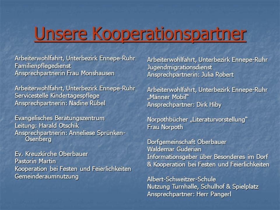 Arbeiterwohlfahrt, Unterbezirk Ennepe-Ruhr Familienpflegedienst Ansprechpartnerin Frau Monshausen Arbeiterwohlfahrt, Unterbezirk Ennepe-Ruhr Servicest