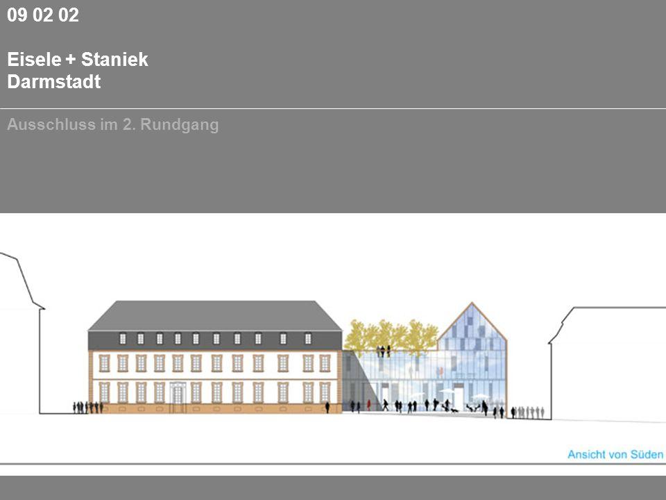 09 02 02 Eisele + Staniek Darmstadt Ausschluss im 2. Rundgang