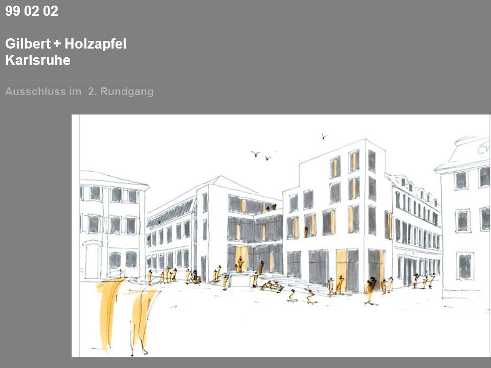 99 02 02 Gilbert + Holzapfel Karlsruhe Ausschluss im 2. Rundgang