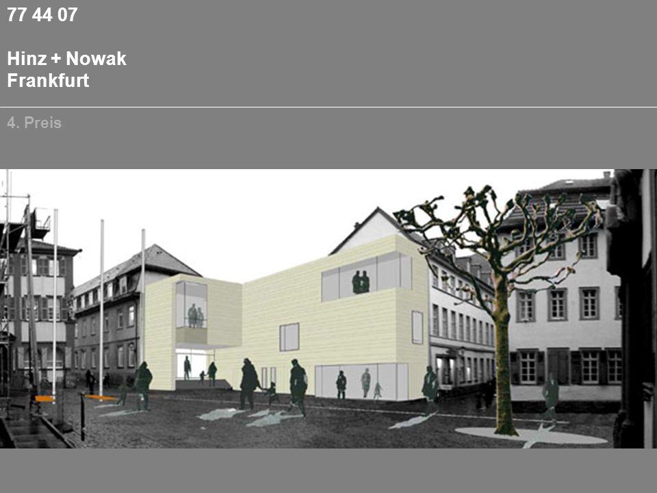 77 44 07 Hinz + Nowak Frankfurt 4. Preis