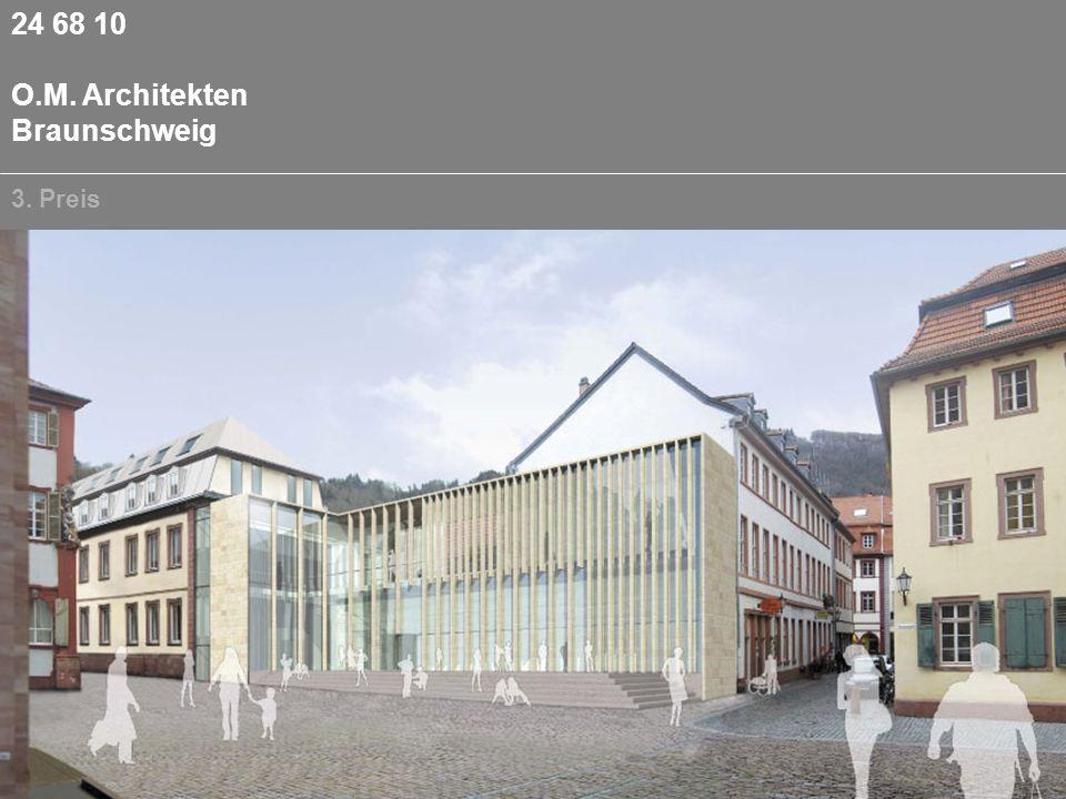 24 68 10 O.M. Architekten Braunschweig 3. Preis