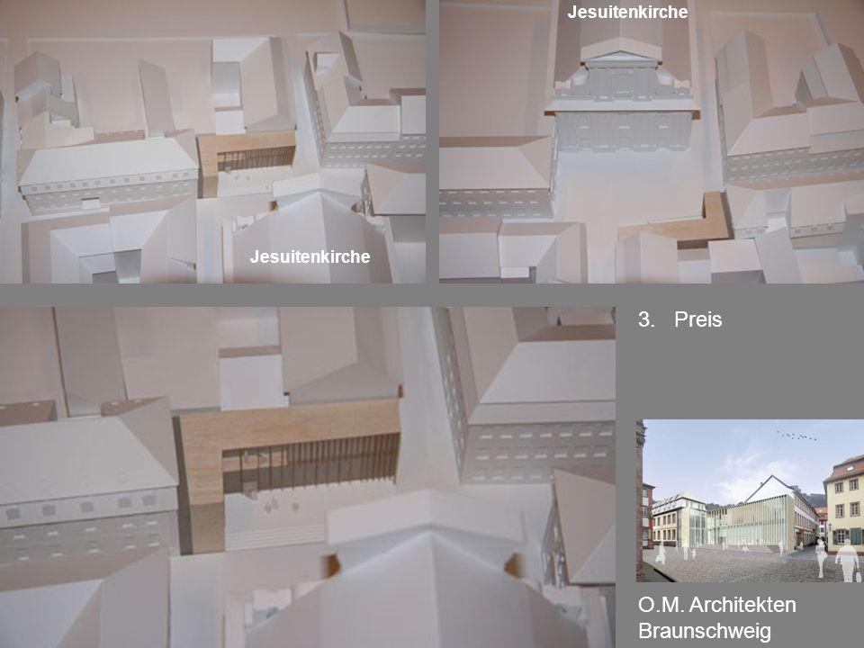 3. Preis O.M. Architekten Braunschweig Jesuitenkirche
