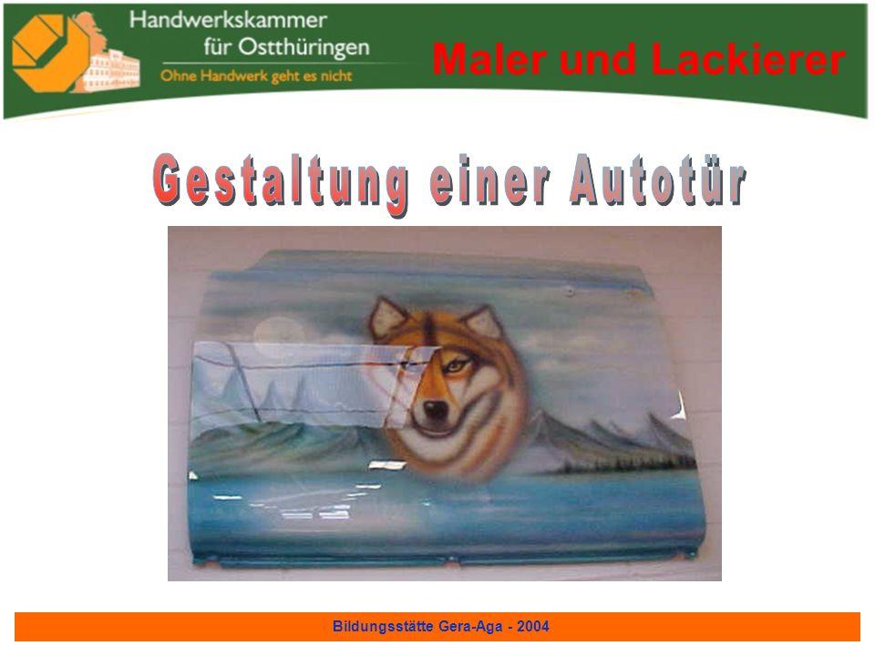 Bildungsstätte Gera-Aga - 2004 Maler und Lackierer