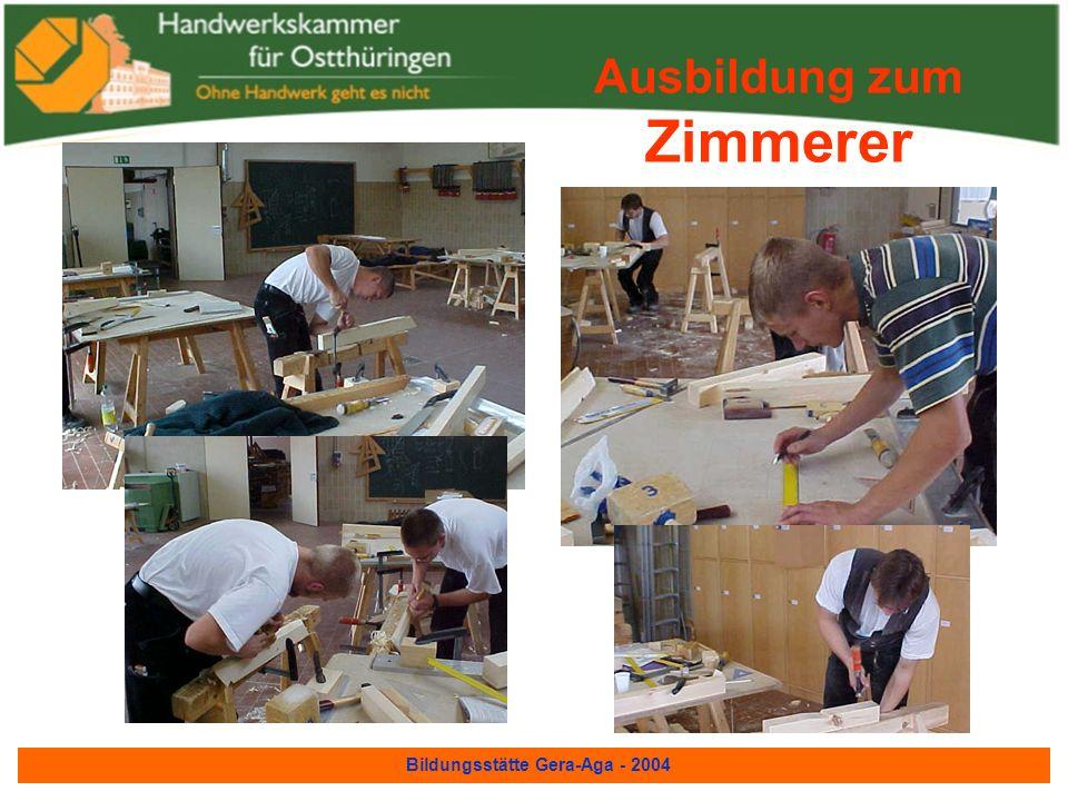 Bildungsstätte Gera-Aga - 2004 Maler und Lackierer Kotflügel Maler und Lackierer