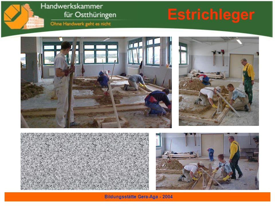Bildungsstätte Gera-Aga - 2004 Fliesen-,Platten- und Mosaikleger