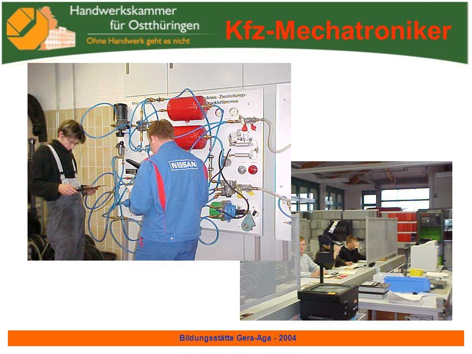 Bildungsstätte Gera-Aga - 2004 Kfz-Mechatroniker