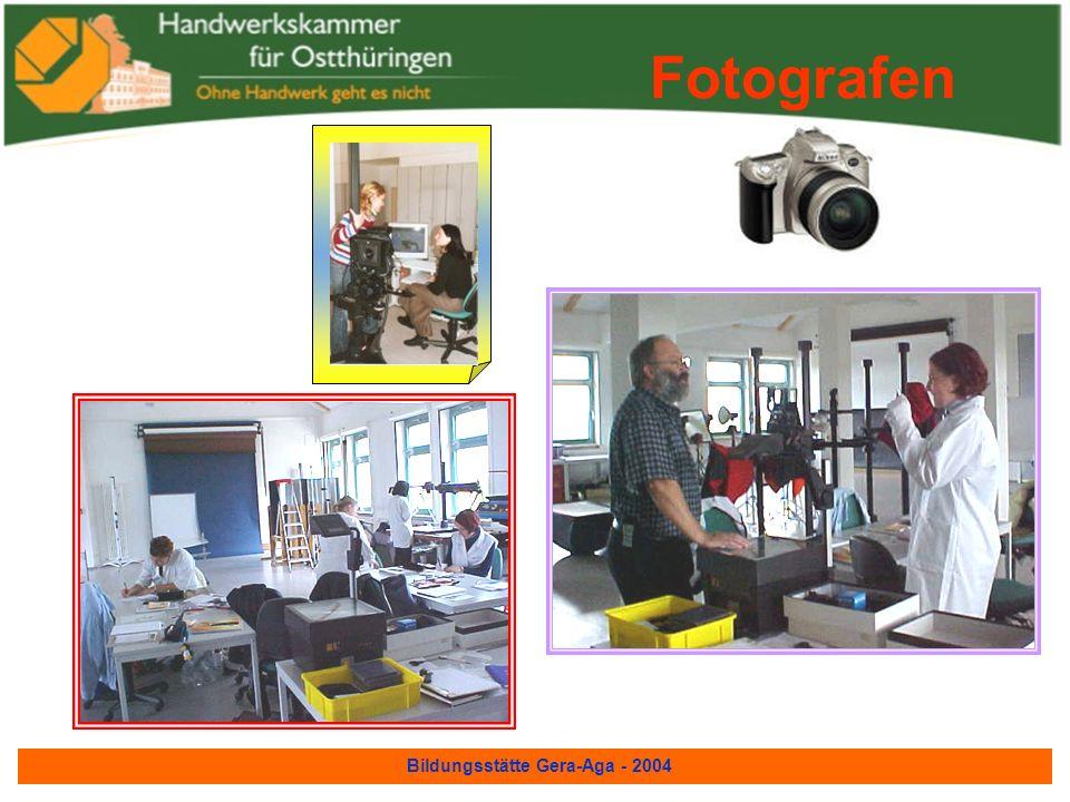 Bildungsstätte Gera-Aga - 2004 Elektroinstallateure