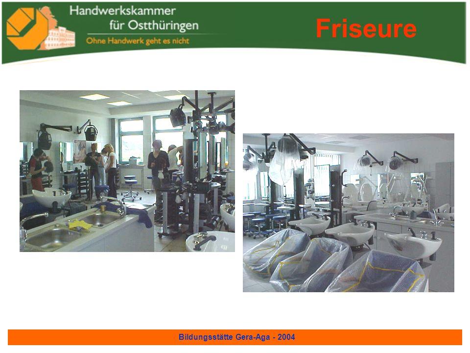 Bildungsstätte Gera-Aga - 2004 Friseure