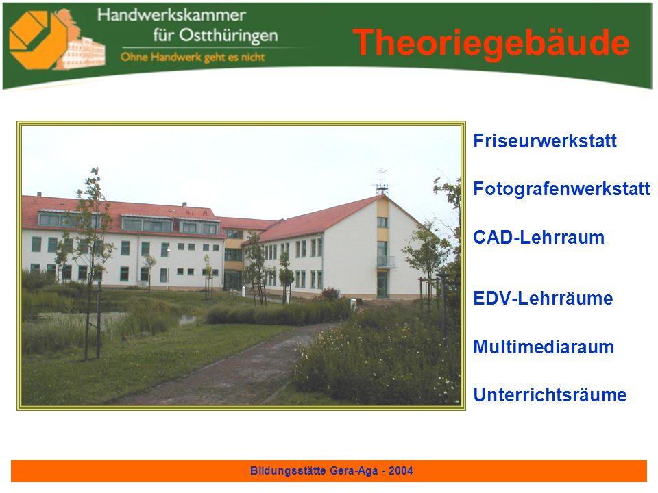Bildungsstätte Gera-Aga - 2004 EstrichlegerwerkstattTrockenbau für Bauberufe Bauhalle 3