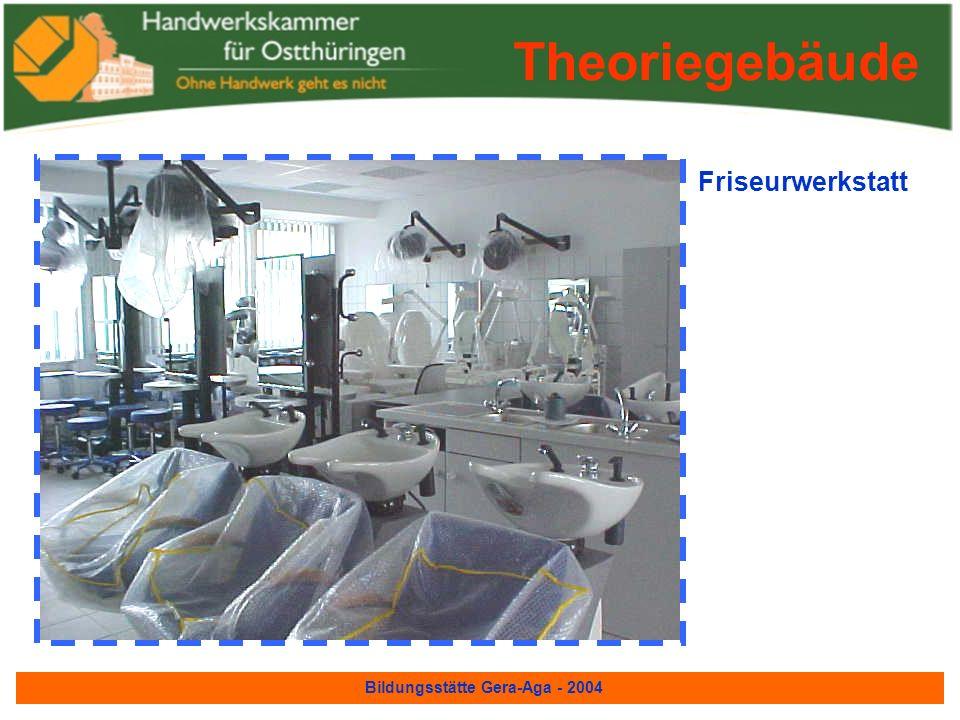 Bildungsstätte Gera-Aga - 2004 Fotografenwerkstatt Theoriegebäude