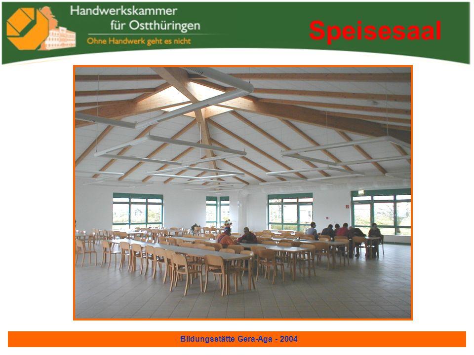 Bildungsstätte Gera-Aga - 2004 Friseurwerkstatt Theoriegebäude