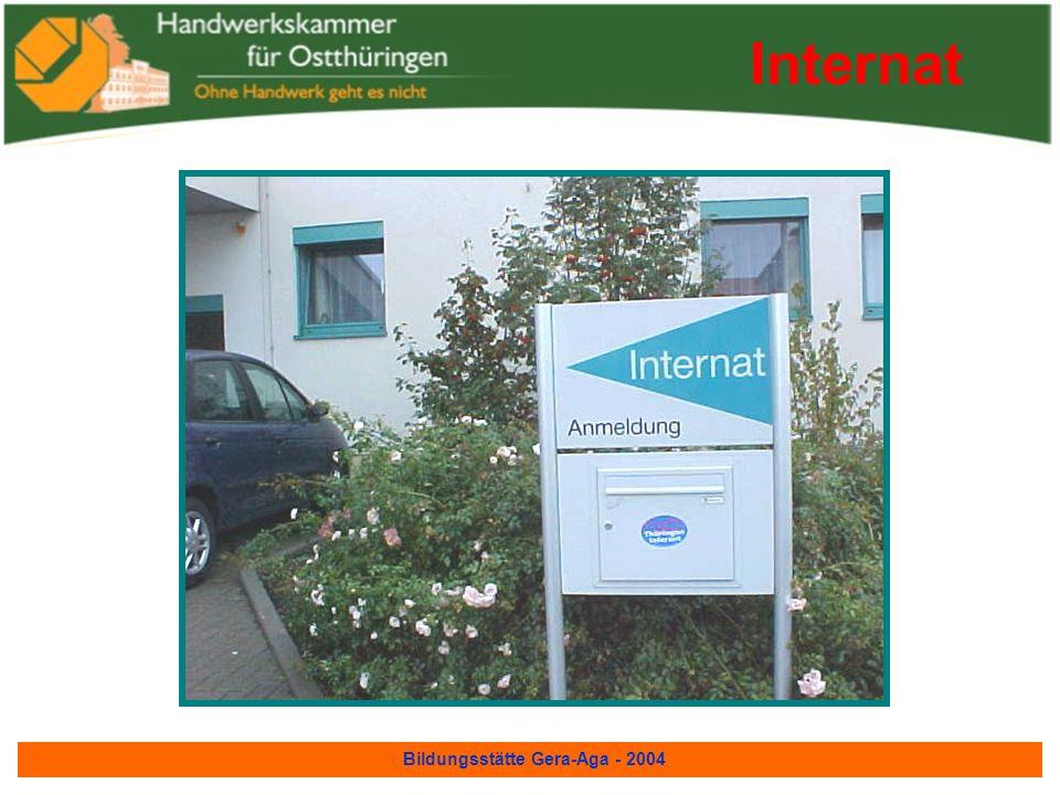 Bildungsstätte Gera-Aga - 2004 Speisesaal