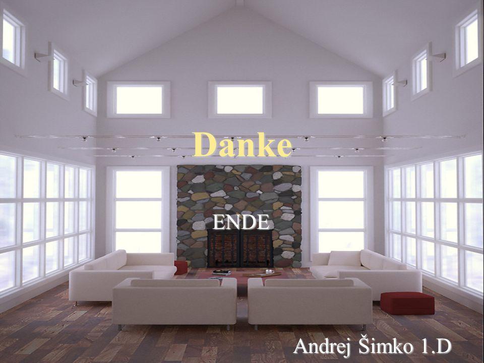 Danke ENDE ENDE Andrej Šimko 1.D