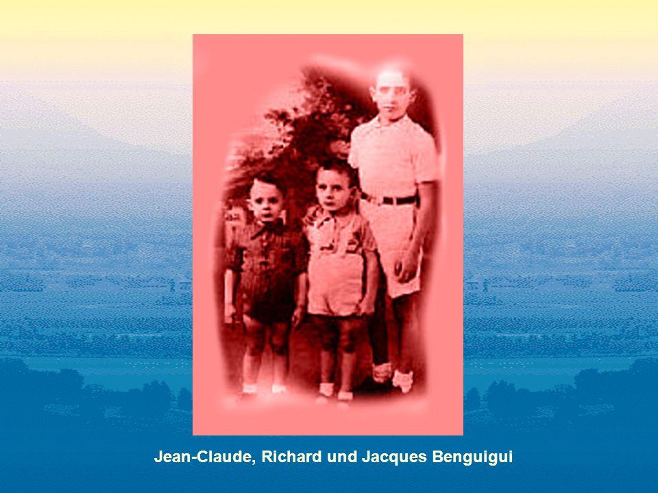 Jean-Claude, Richard und Jacques Benguigui