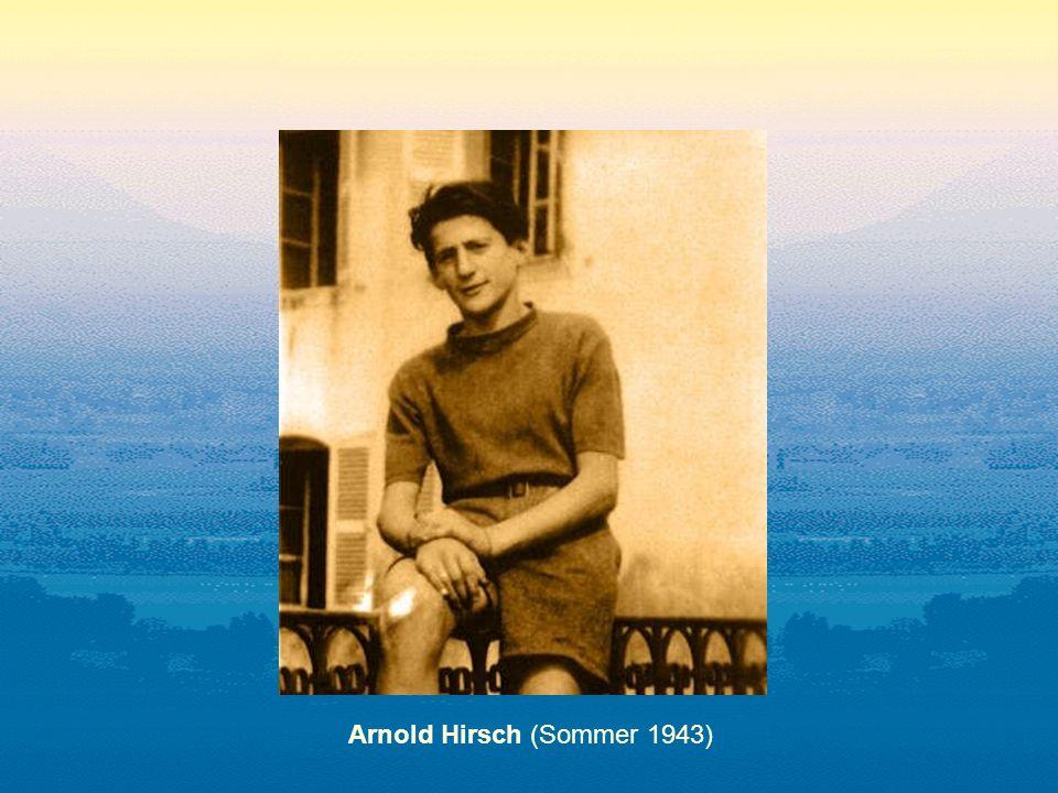 Arnold Hirsch (Sommer 1943)