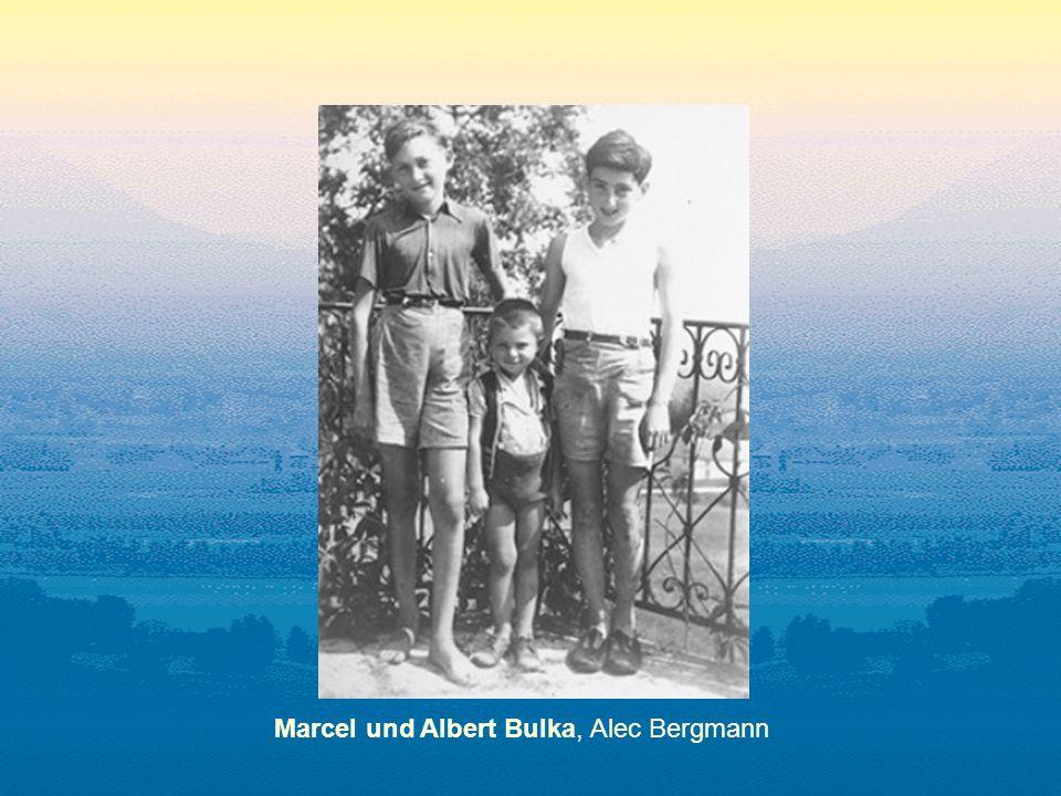 Marcel und Albert Bulka, Alec Bergmann