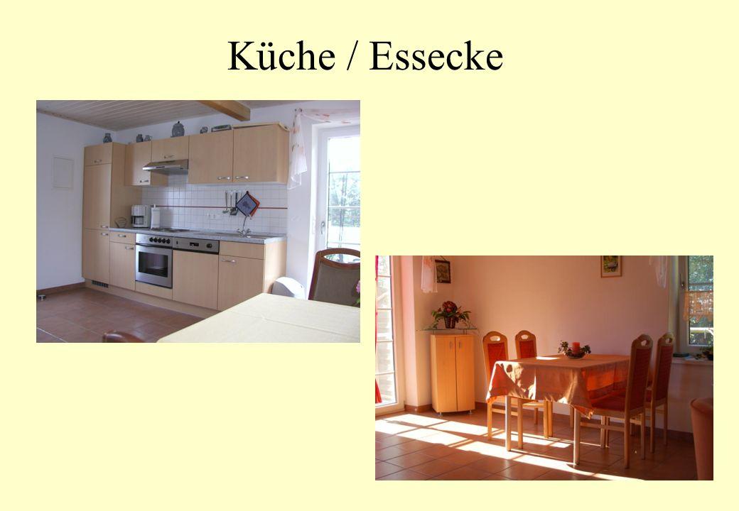 Küche / Essecke