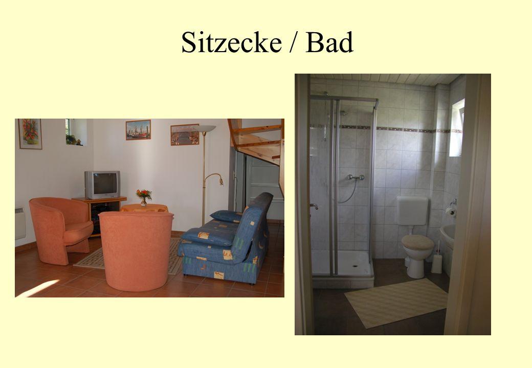 Sitzecke / Bad