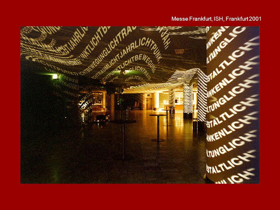 Messe Frankfurt, ISH, Frankfurt 2001
