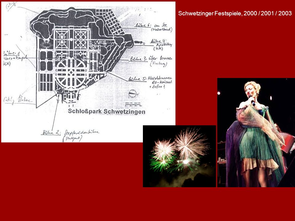Schwetzinger Festspiele, 2000 / 2001 / 2003
