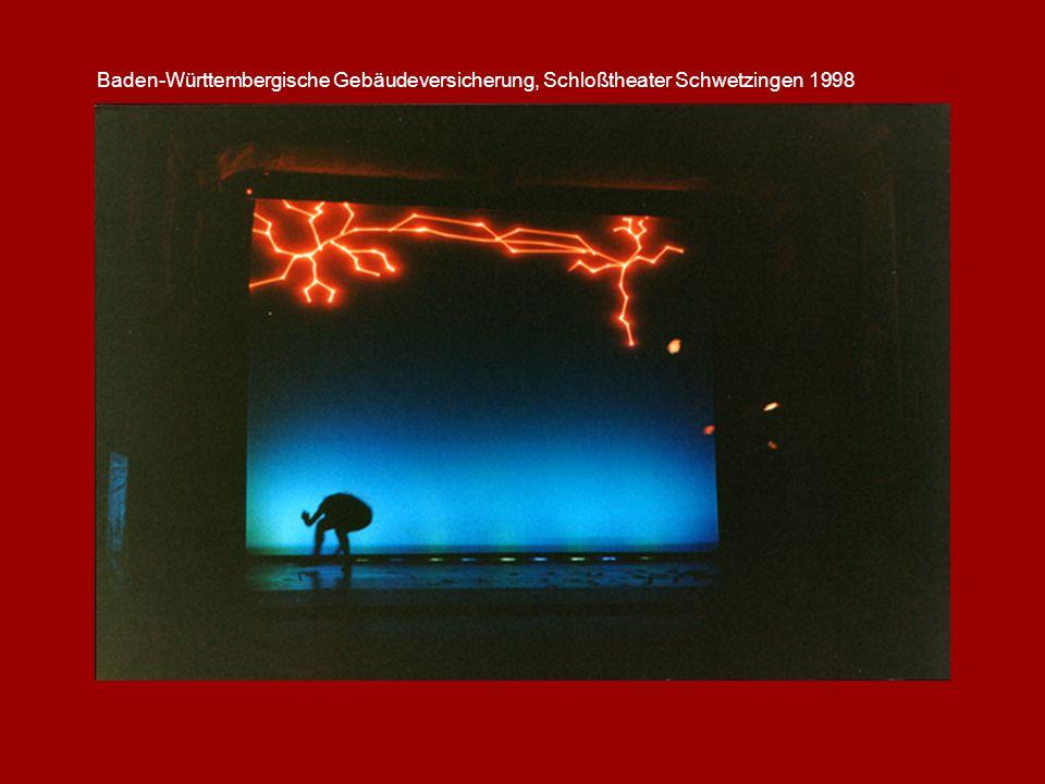 Baden-Württembergische Gebäudeversicherung, Schloßtheater Schwetzingen 1998