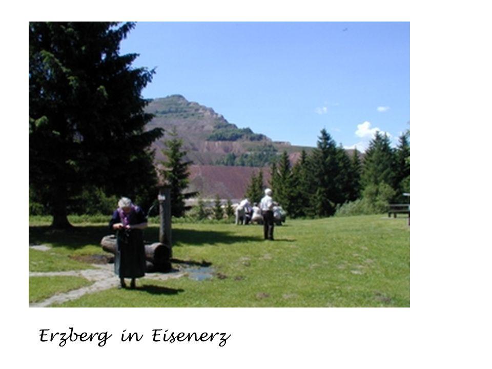 Naturpark Gesäuse Leopoldsteiner See Eisenerz Ausflüge