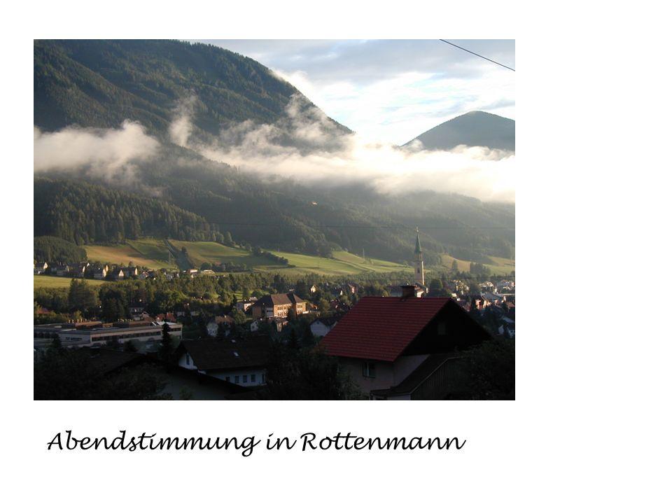 Abendstimmung in Rottenmann