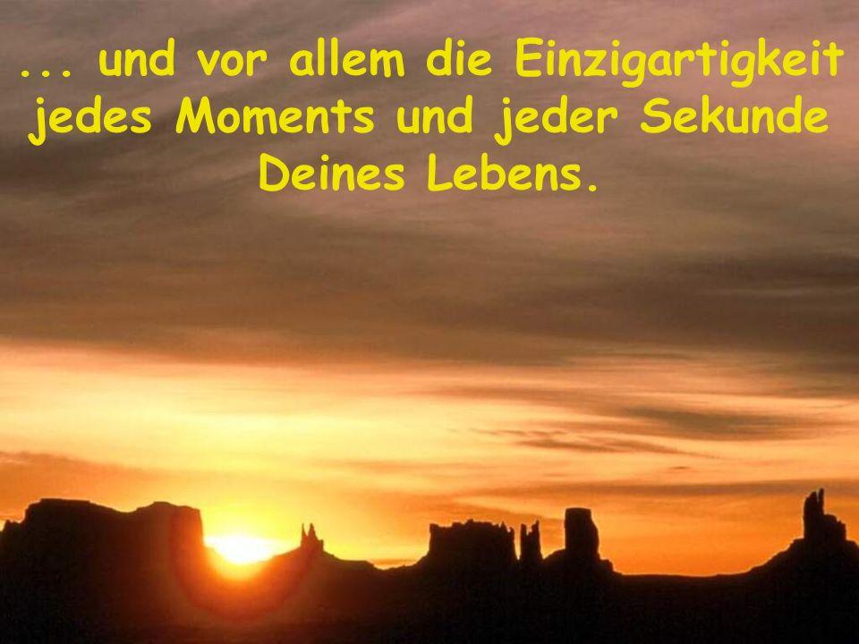 Das Leben sind Momente des Genusses.......... nicht Momente des bloßen Überlebens Lass Dich nieder und genieße die Aussicht....... entdecke Erkenntnis