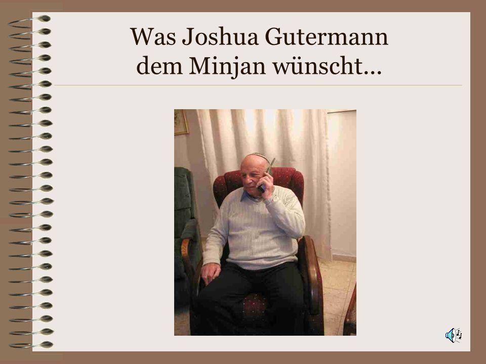 Minjan zum Vierten 1979: Etzelstrasse Full Service - Minjan Neu: Verein mit Statuten