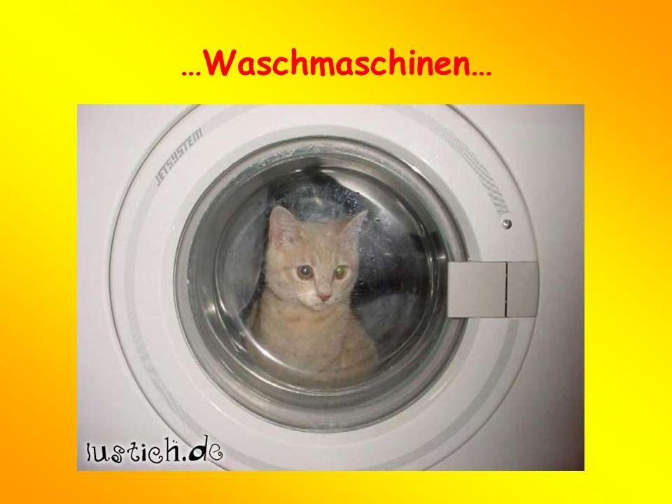 …Waschmaschinen…