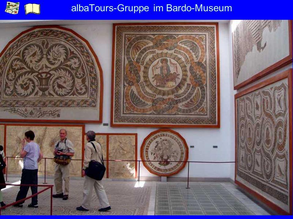 albaTours-Gruppe im Bardo-Museum