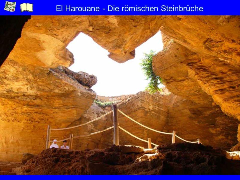 El Harouane - Die römischen Steinbrüche